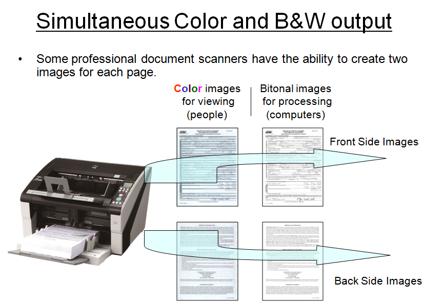 Getting the most out of your document capture solution – Multistream, color dropout for forms processing