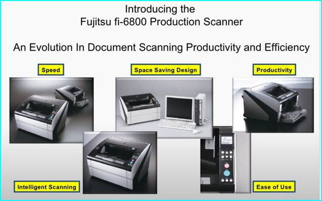 Fujitsu fi-6800 Production Scanner – The ultimate in Production scanning efficiency