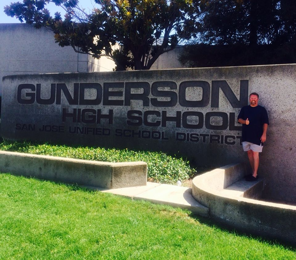 gunderson high school sign