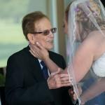 dad and rachelle wedding